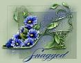 FloralShoeSnagged