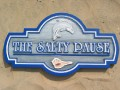 The Salty Pause Sign