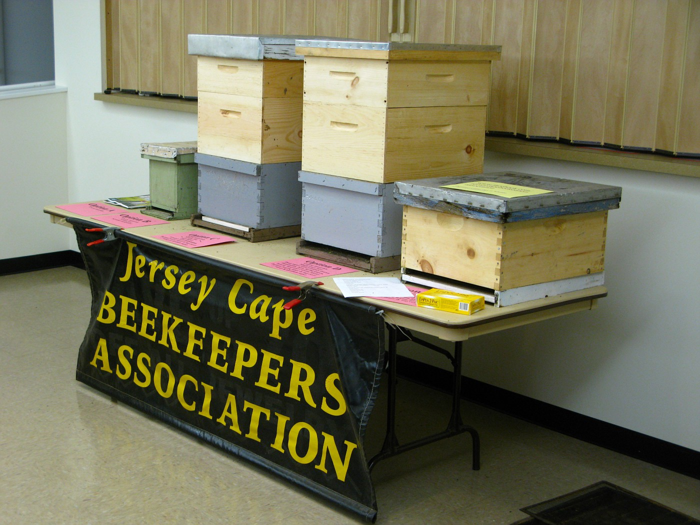 Jersey Cape Beekeepers Association Bee-ginners Beekeeping Course Session 2 of 6.
