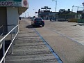 Only vehicles allowed on the Boardwalk,,,  cop cars and some maintenance vehicles...