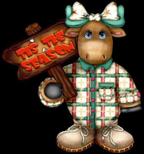 Craftykid Stocking  (Craftykid) Craftykidmoosegirltistheseason-vi