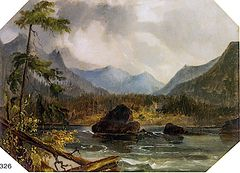 Cascade Mountains and Cascades [undated]