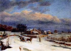 Kennett Square in Winter [undated]