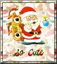 Santa with friendsTaSo Cute