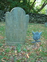 Obadiah Holmes grave & marker, Holmes Lot, Middletown, Newport County, Rhode Island. From Louis Seymour, Findagrave com.