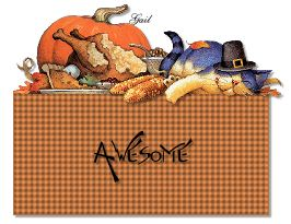 Awesome-gailz1109-ThanksgivingCat GobbleGobble KAT