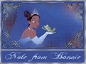 Princess & The Frog10 2Note from Bonnie